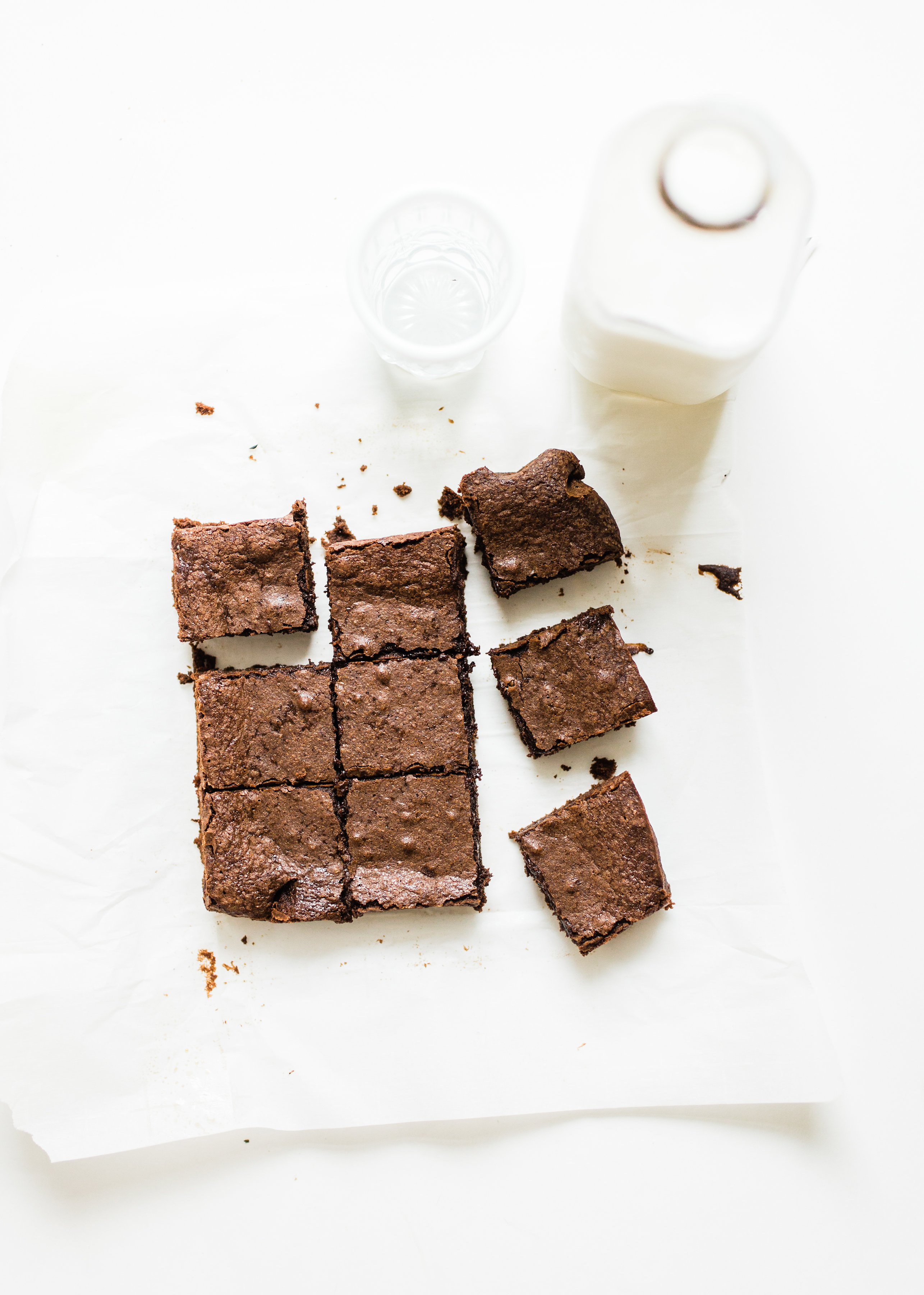 How to Make Easy, Fudgy, Chewy, Cakey, Better Than Box Mix Brownies