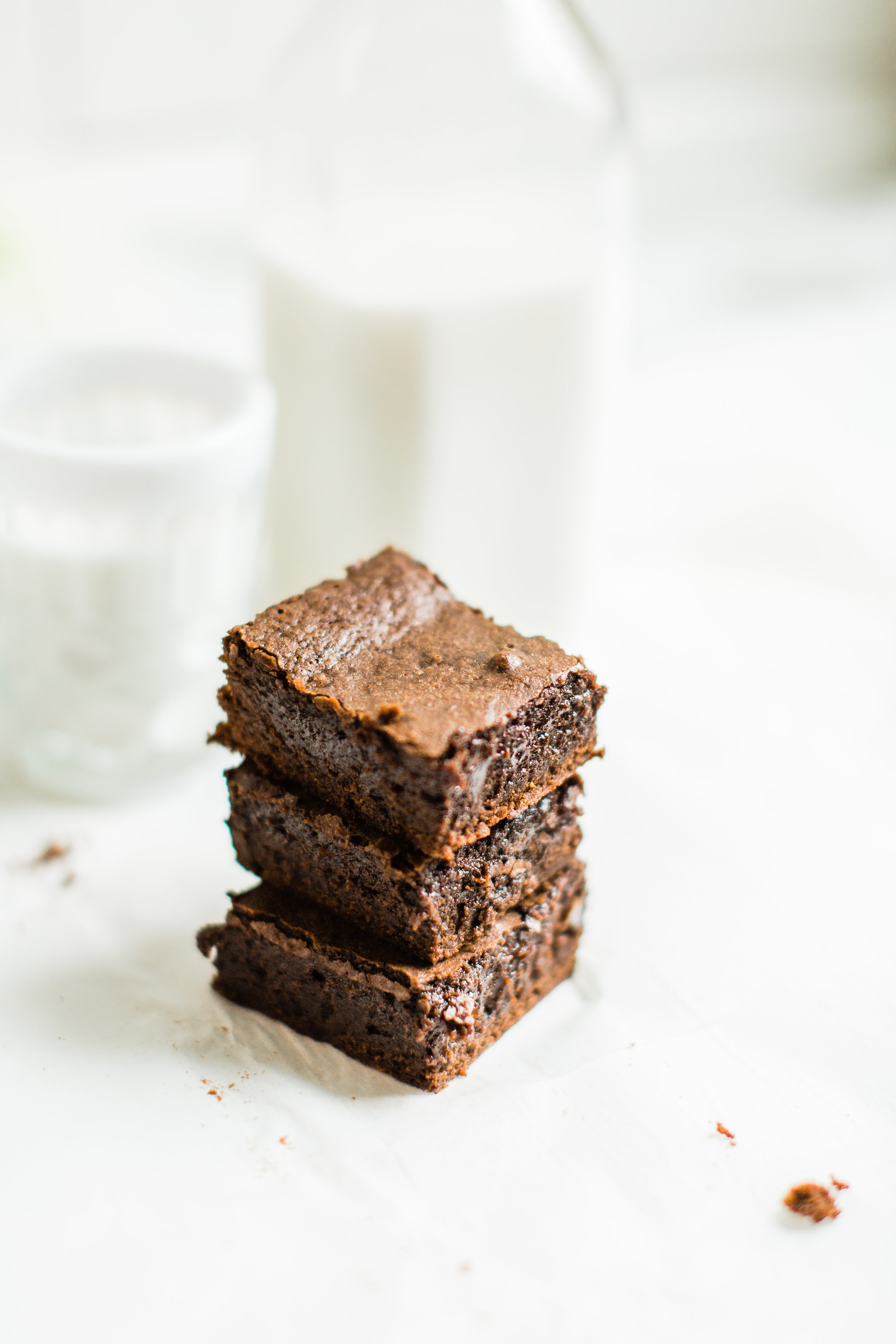 How to Make Easy, Fudgy, Chewy, Cakey, Better Than Box Mix Brownies - Glitter Inc
