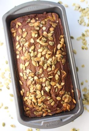 Healthy Paleo Pumpkin Bread