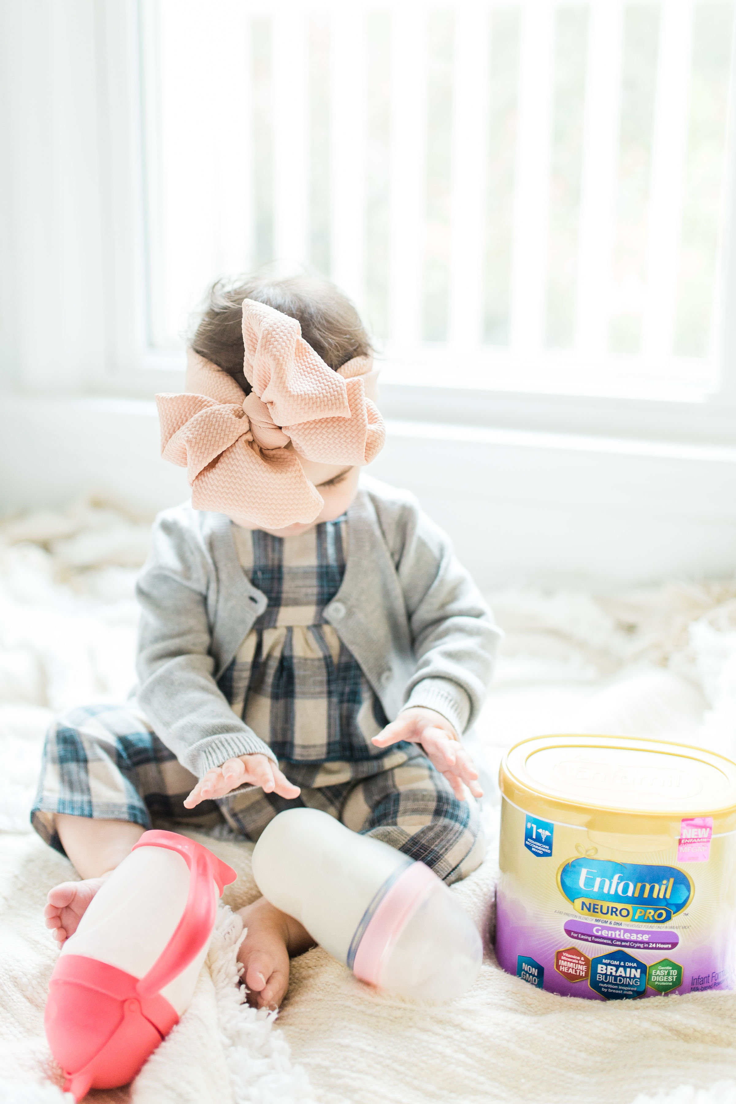 We've long-trusted Enfamil NeuroPro™ formula for our baby.