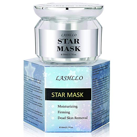Peel Off Mask, Moisturizing Mask for Face, Star Mask Bling Glitter Deep Cleansing Pore Moisturizing Blackhead Remover