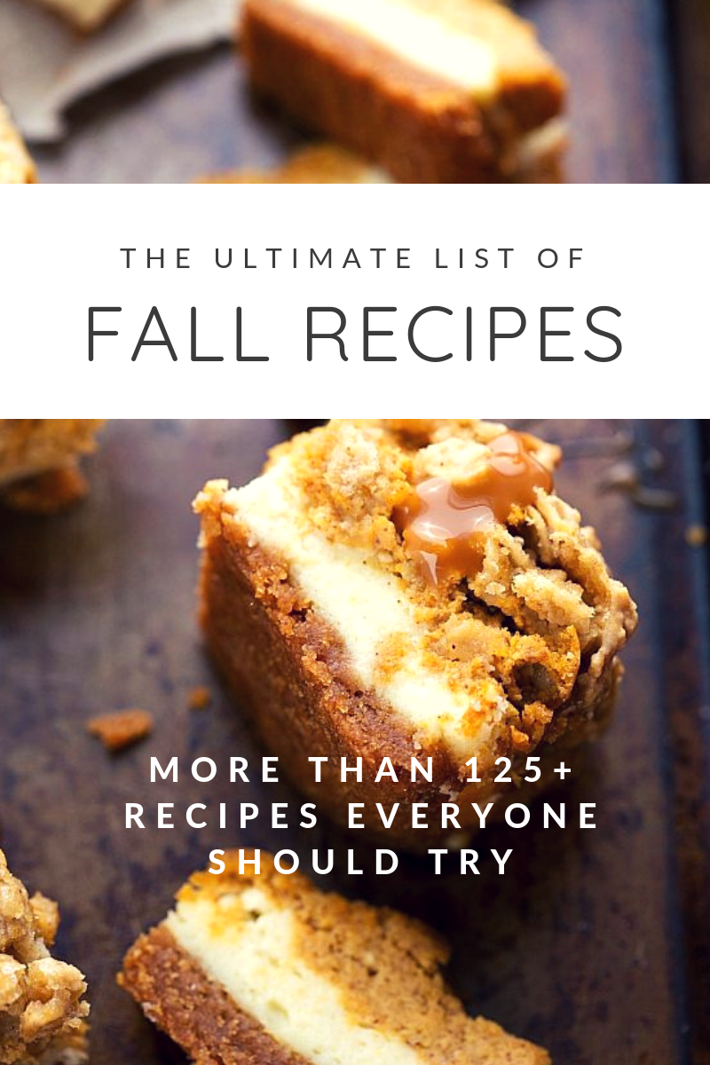 Looking for a little recipe inspiration this fall season? | glitterinc.com | @glitterinc