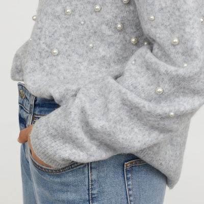 Weekly finds - Bead Embroidered Sweater