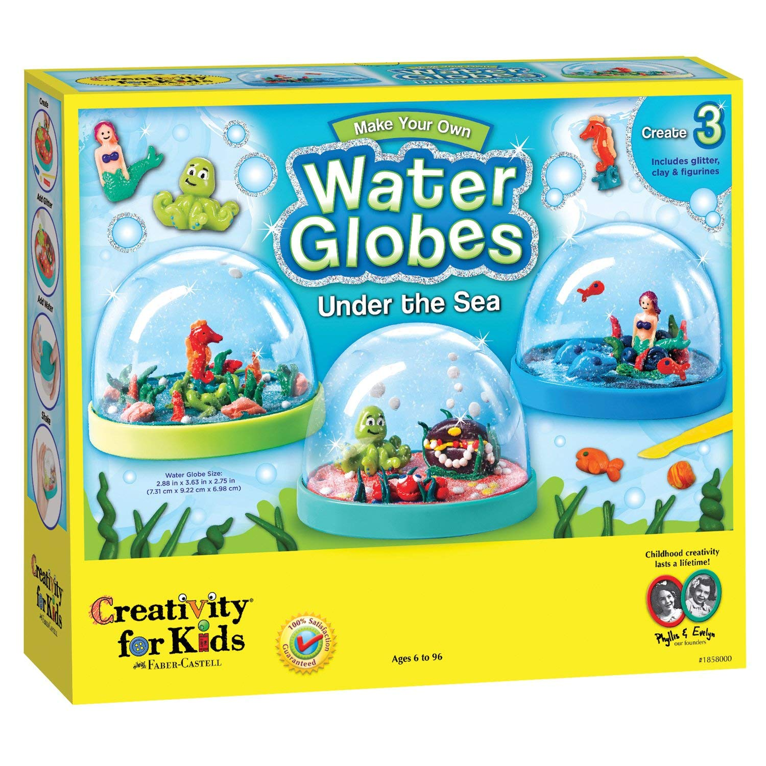 Creativity for Kids Water Globes