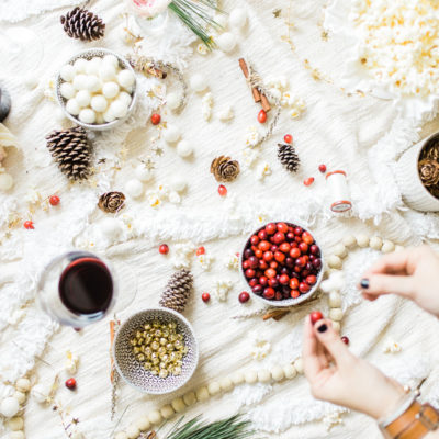 DIY Holiday Garland Party (The Perfect Girls Night)