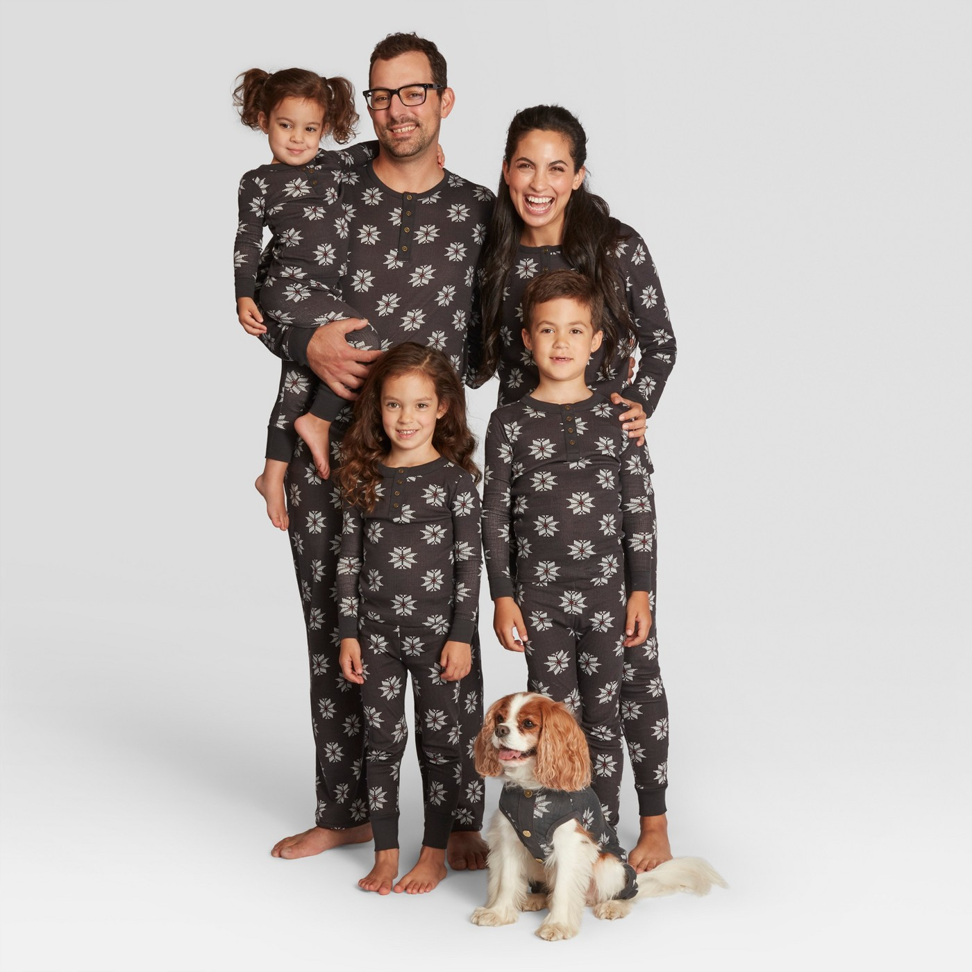 Hearth & Hand with Magnolia Holiday Fair Isle Family Pajamas Collection