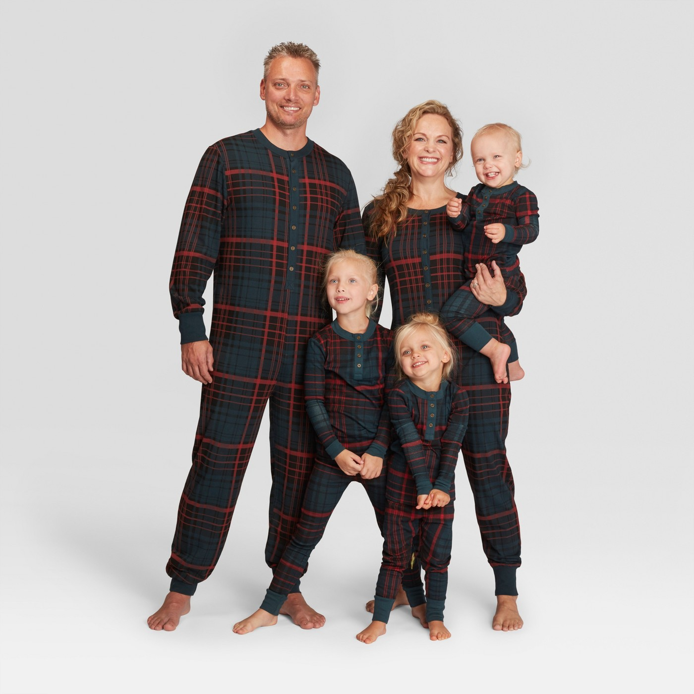 Hearth & Hand with Magnolia Plaid Holiday Family Pajamas Collection