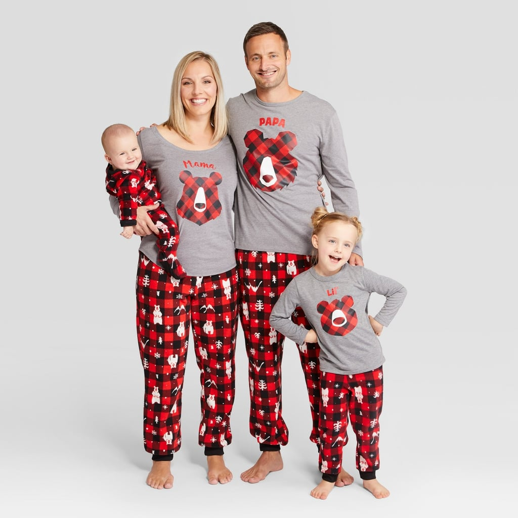 Holiday Bear Family Pajamas Collection