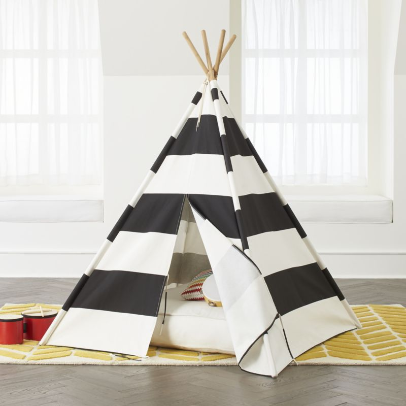 Kids Striped Teepee