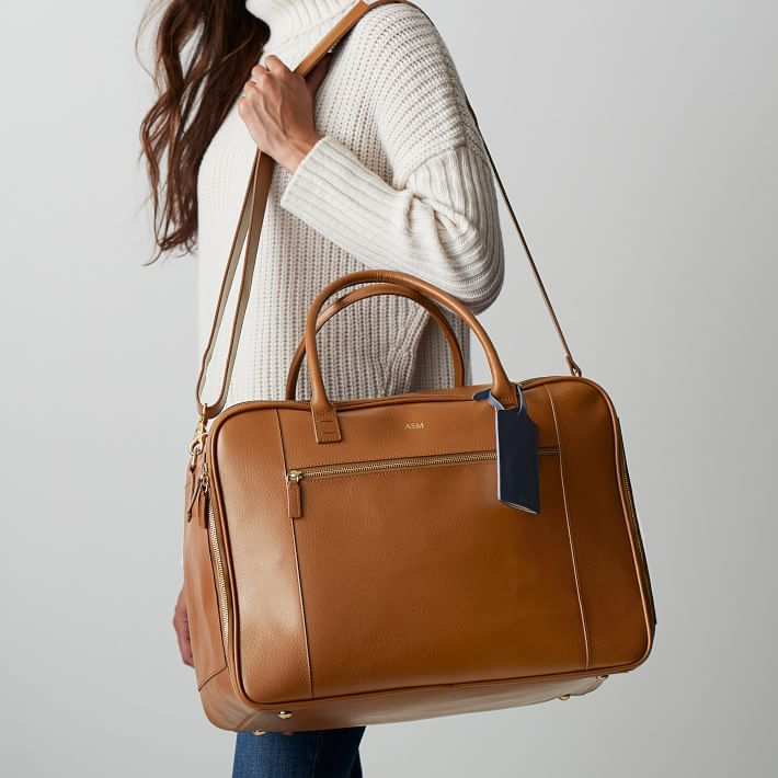 Mark & Graham Audrey Leather Weekender