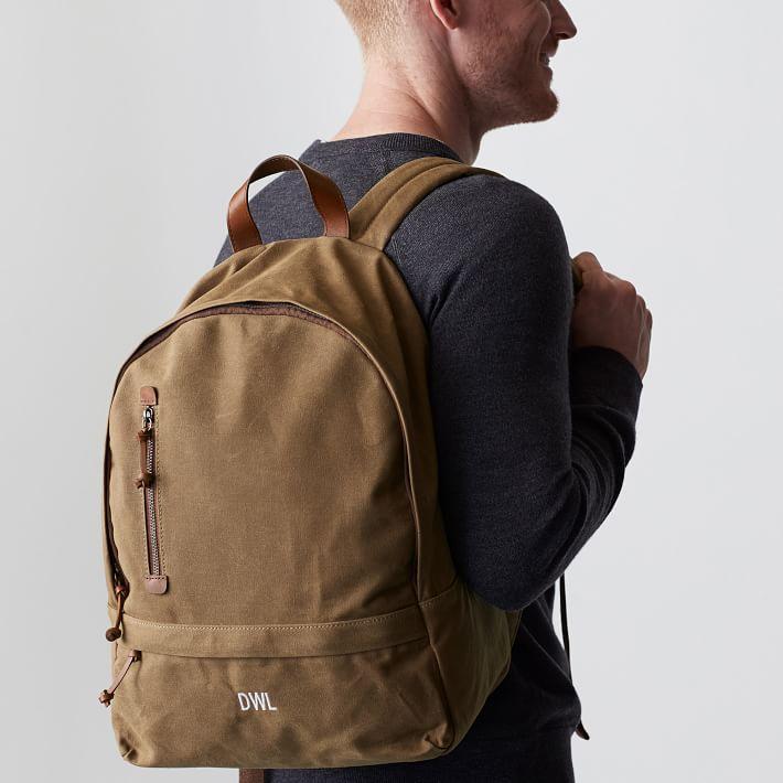 Mercer Personalized Mens Backpack