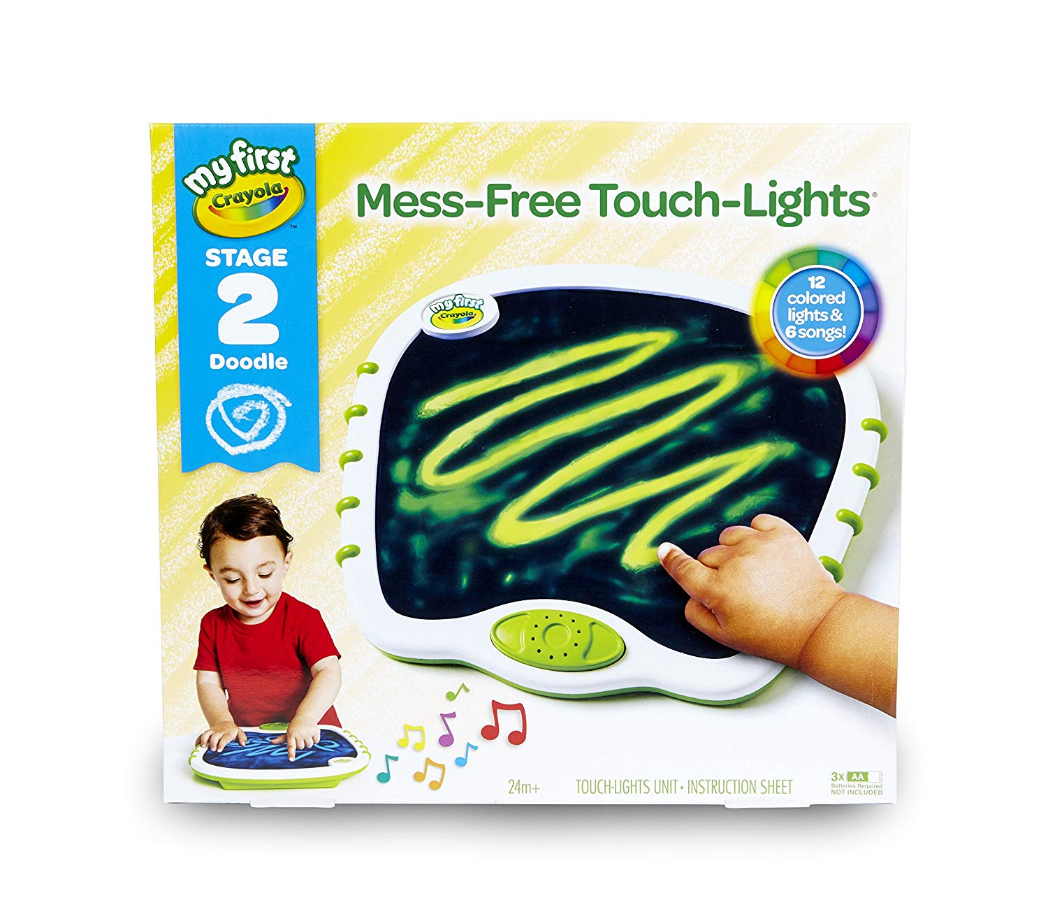 My First Crayola Touch Lights, Musical Doodle Board