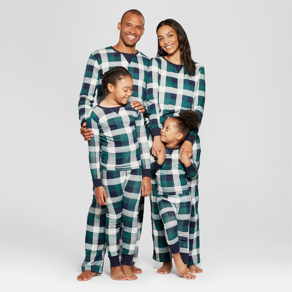 Wondershop Green Plaid Family Pajamas Collection