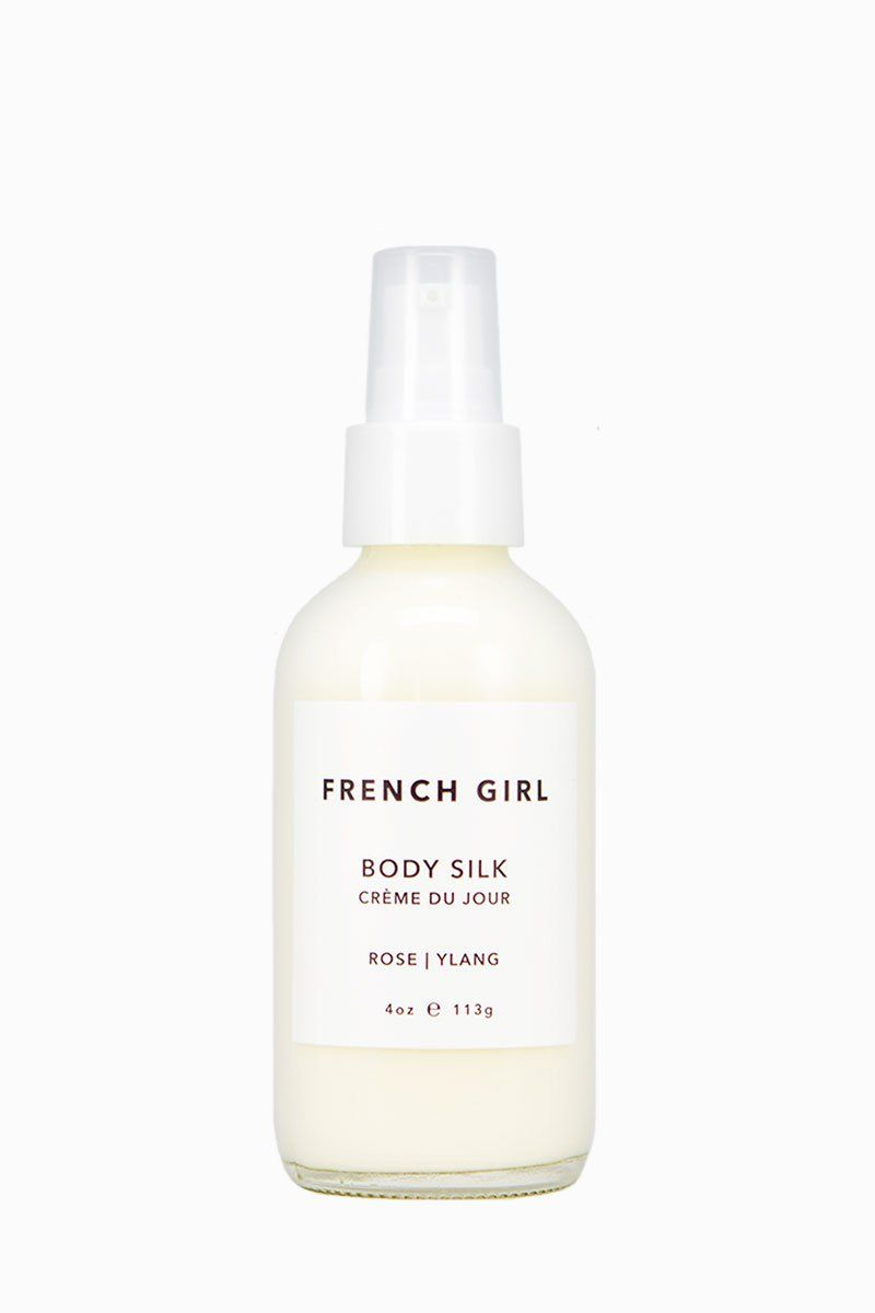 French Girl Organics Organic/Vegan Rose Body Silk Lotion (I've heard nothing but good things about French Girl Organics beauty products, and this rose body silk lotion sounds dreamy! It would also make a really nice gift.)