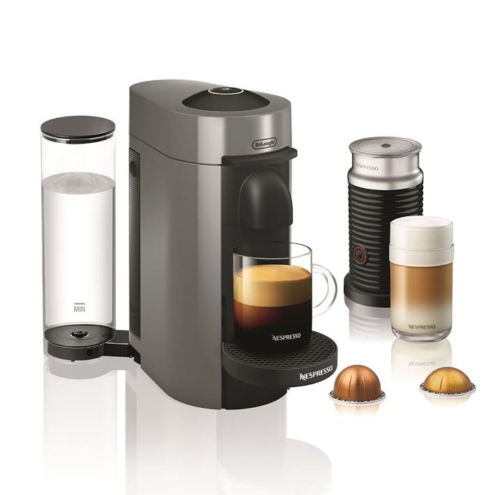 Nespresso VertuoPlus Coffee Maker & Espresso Maker with Aeroccino Milk Frother