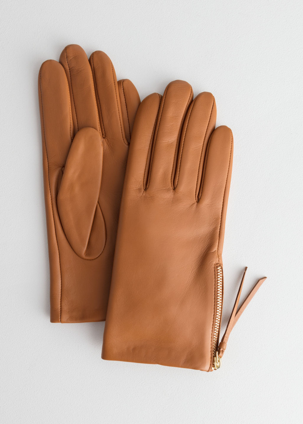 & Other Stories Side Zip Gloves