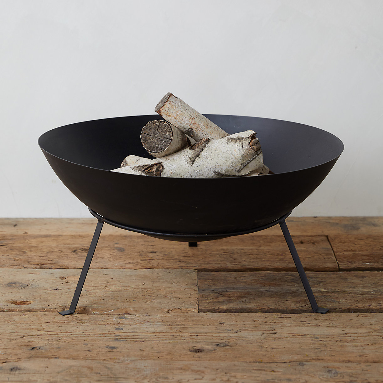 Simple Steel Bowl Fire Pit