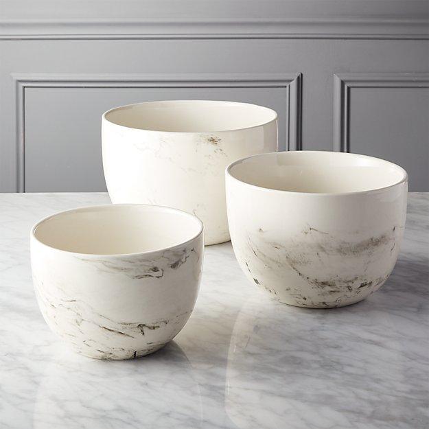 CB2 3-piece stir mixing bowl set