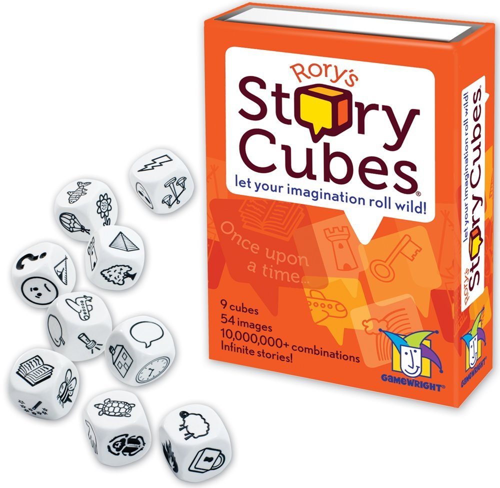 My favorite weekly finds, including this Gamewright Rory's Story Cubes | Click through for the details. | glitterinc.com | @glitterinc