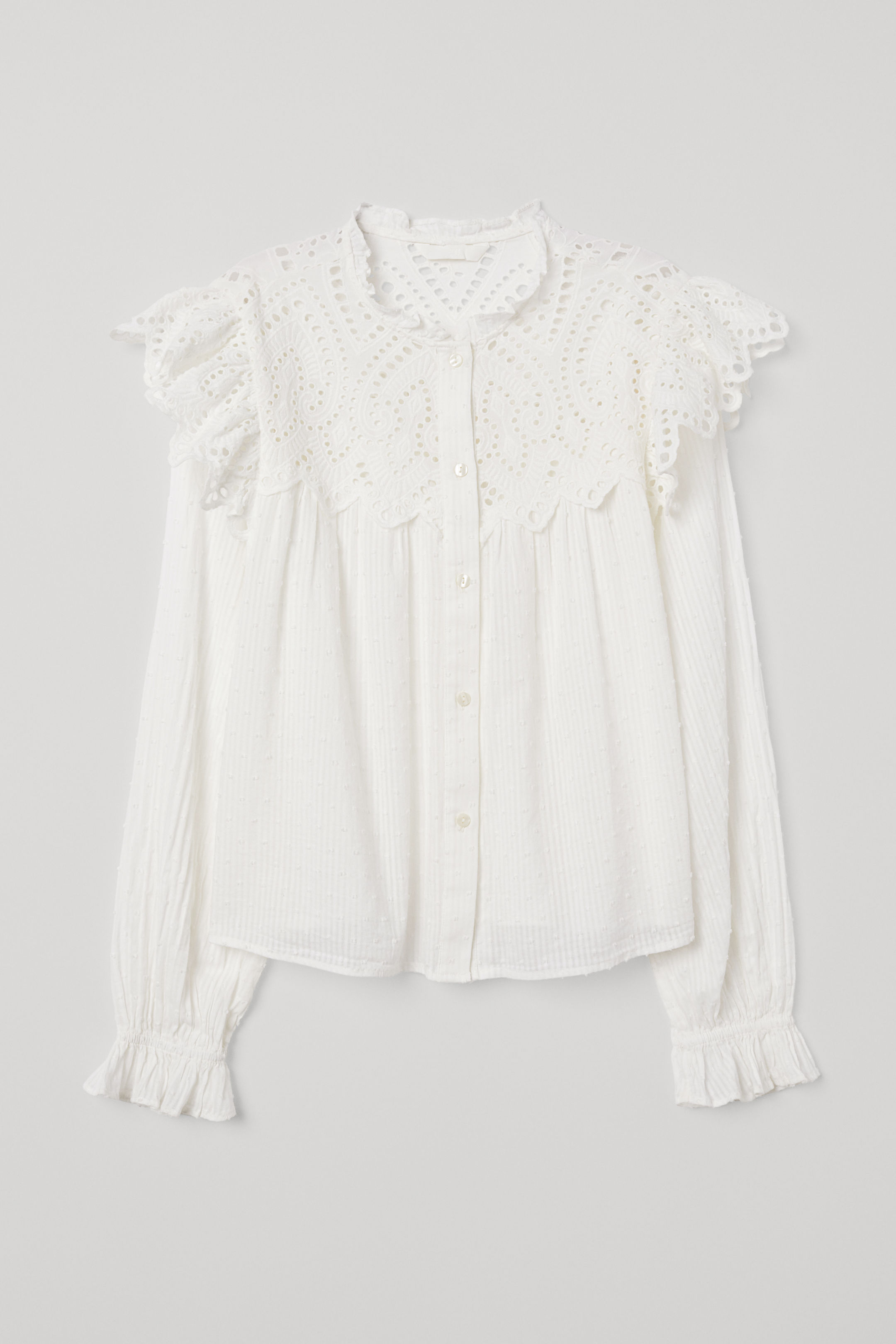 My favorite weekly finds, including this HM Blouse with Eyelet Embroidery | Click through for the details. | glitterinc.com | @glitterinc