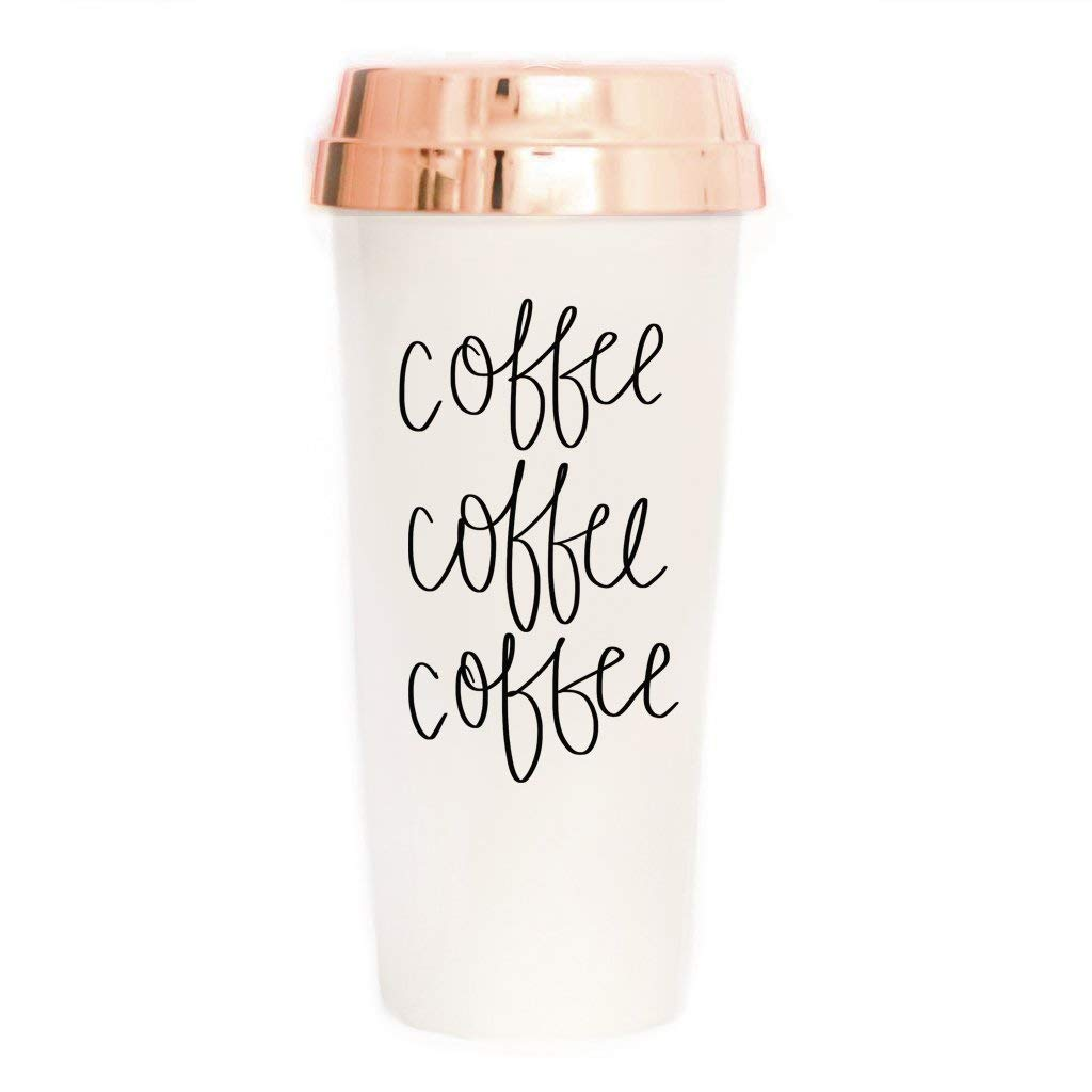Lifestyle blogger Lexi of Glitter, Inc. shares her favorite weekly finds from around the web, including this adorable Sweet Water Decor Coffee Travel Mug | glitterinc.com | @glitterinc
