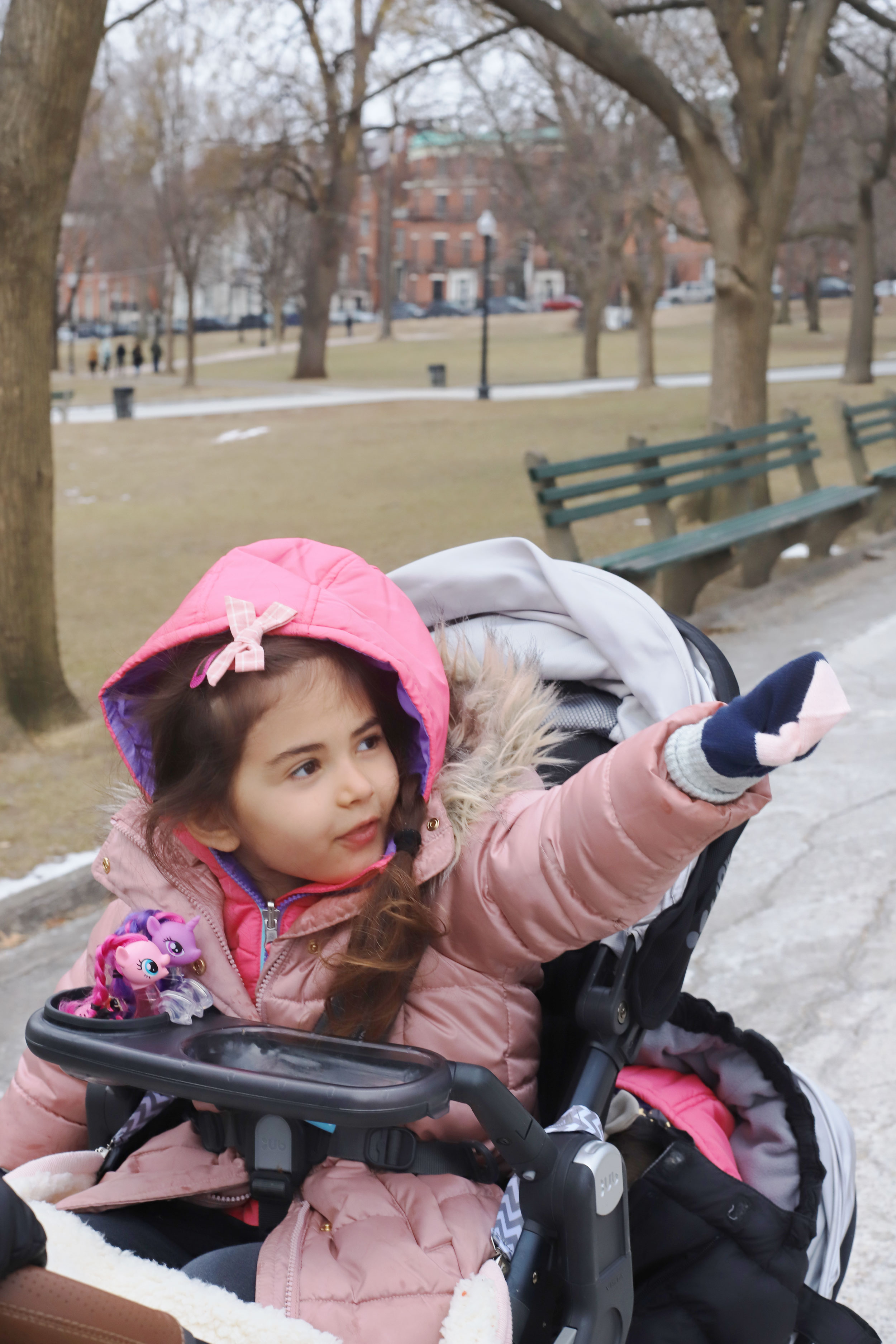 We walked through Boston Common several times throughout our long weekend trip