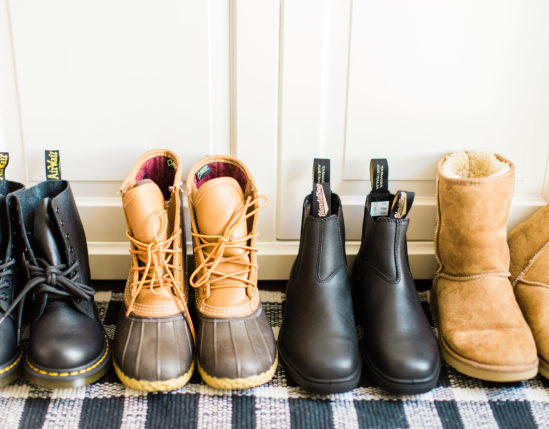 My 4 Favorite Cold-Weather Winter Boots - Dr. Martens Pascal Virginia 8-Eye Combat Boot, L.L.Bean Duck Boots, Blundstone Dress Boots and UGG Classic II Genuine Shearling Lined Short Boot