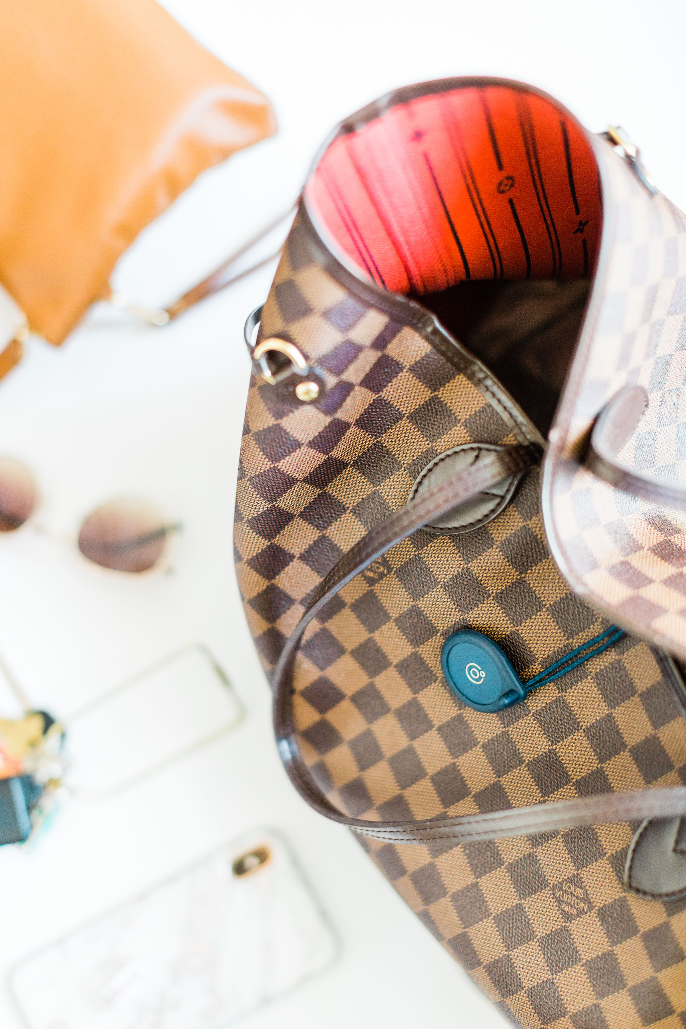My new favorite mom hack - Adero and a Louis Vuitton bag