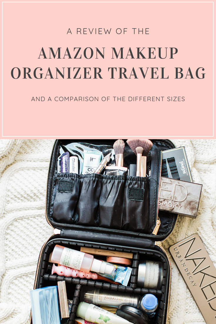 6964f90a1c59 Have your eye on the Amazon makeup organizer travel bag everyone is buying