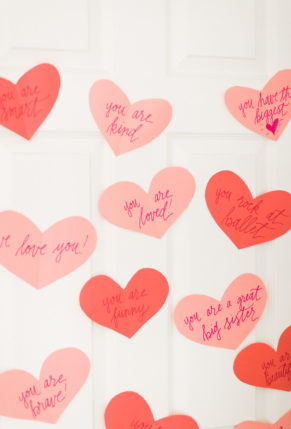 Valentines Day Paper Hearts – Heart Attack – Love Messages – Kids – glitterinc.com – -8965