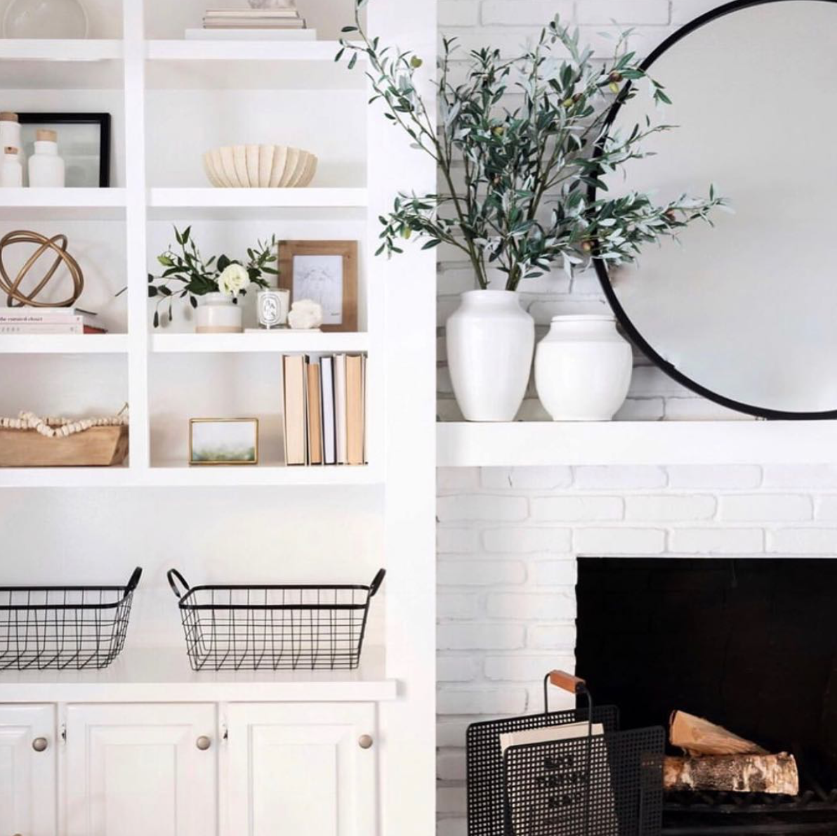 Lifestyle blogger Lexi of Glitter, Inc. shares a few little love notes to the things she loved most this week, including this living room shelfie situation, a chic $3 bow scrunchie, the sweetest love story, how to wake up smiling, chocolate rolls, and more. | glitterinc.com | @glitterinc