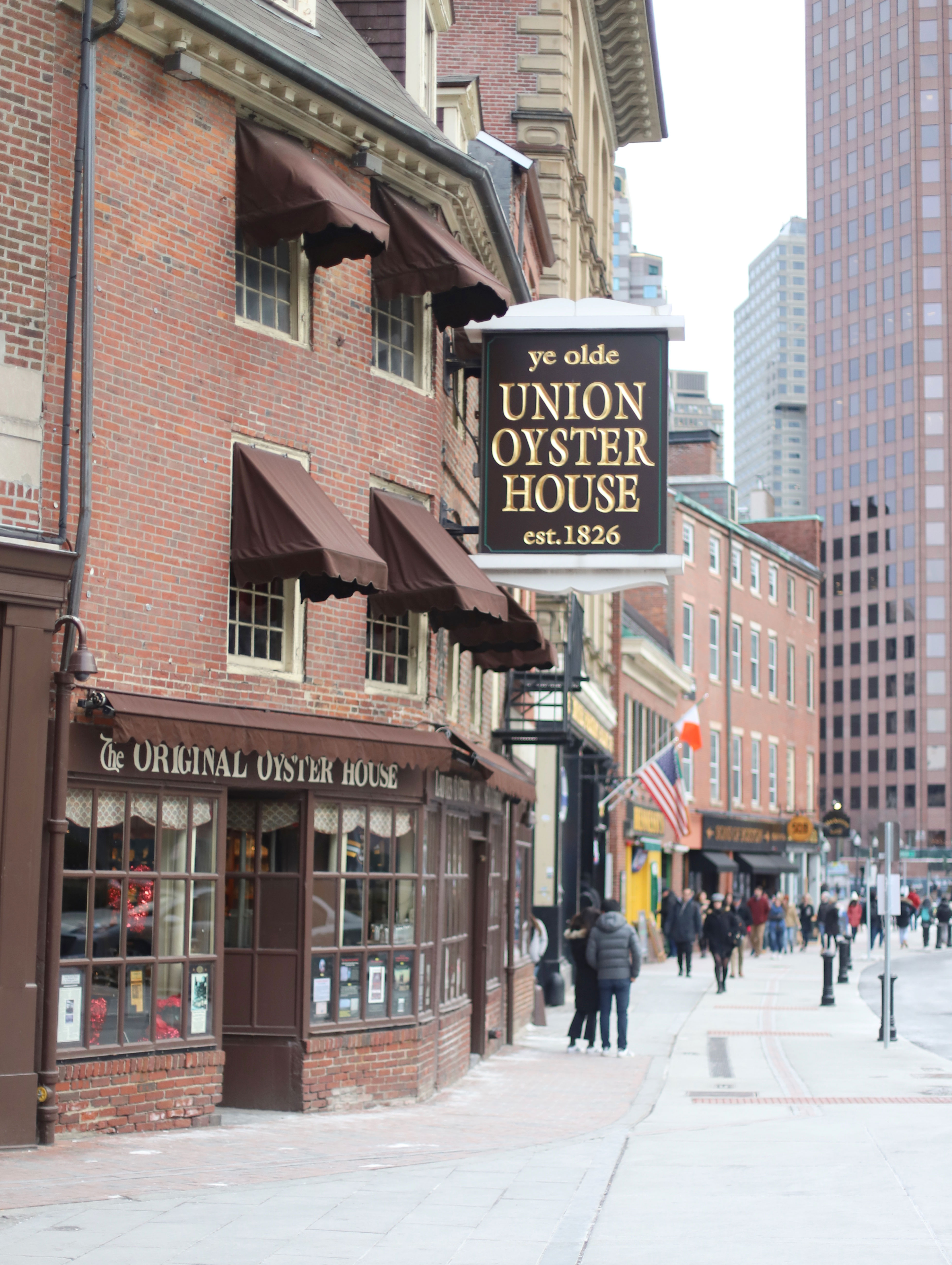 Union Oyster House in Boston