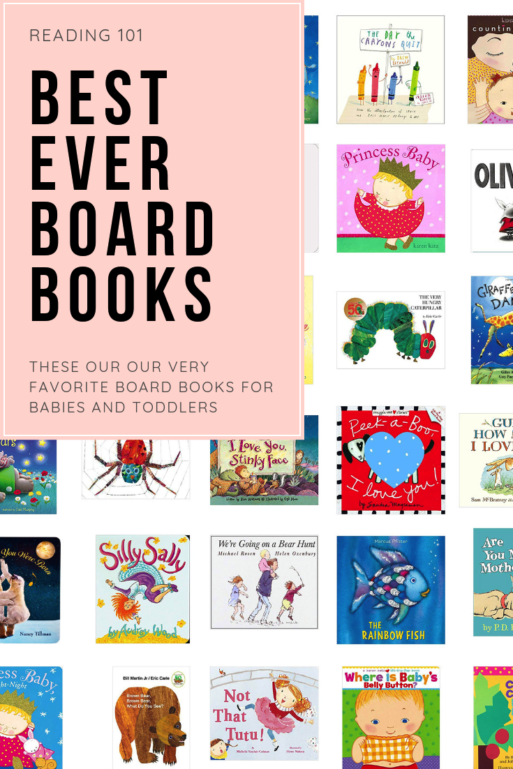 Because we absolutely adore our ever-growing book collection, we are sharing a whole bunch of our favorites; a.k.a., the board books we think work best for the baby and toddler years, to create lasting memories. | glitterinc.com | @glitterinc