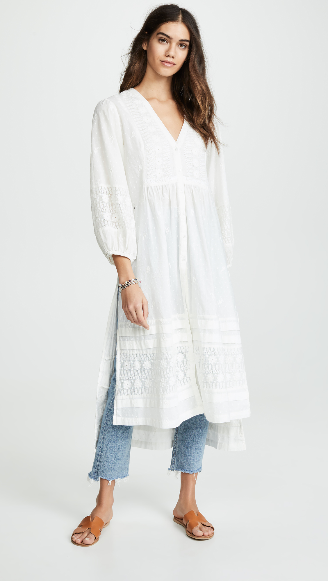 Weekly Finds  - Free People June Bug Maxi Blouse