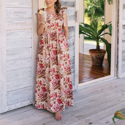 The Most Perfect Spring Maxi Dress