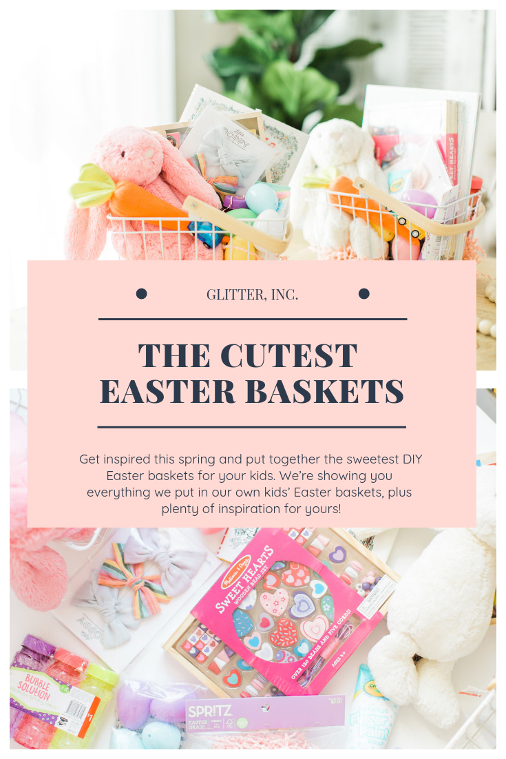 The cutest Easter baskets