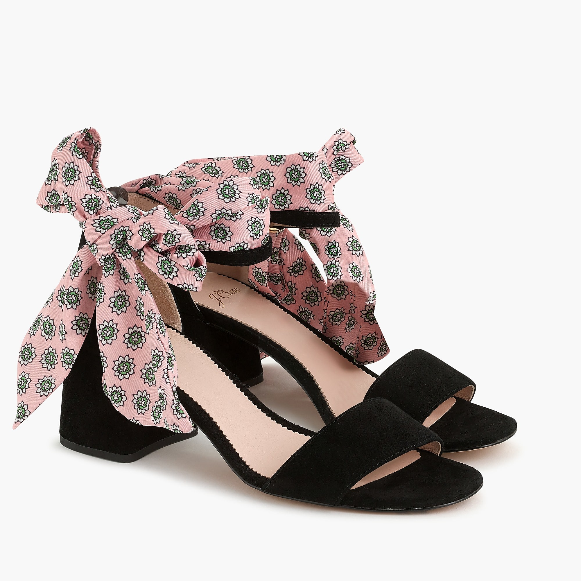 Weekly Finds - J.Crew Penny Ankle Strap Sandals with Scarf Tie
