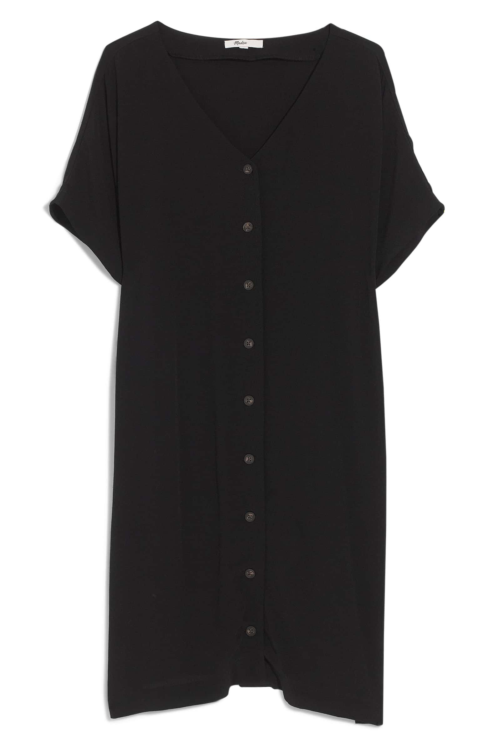 Weekly Finds - Madewell Button Front Easy Dress