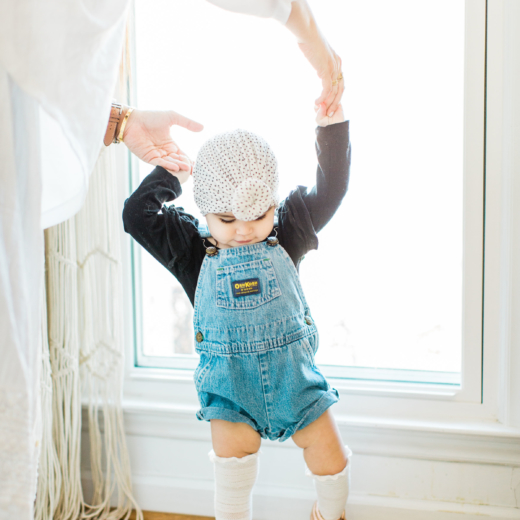 Our Family Heirloom Overalls + Thoughts on Baby Hand-Me-Downs