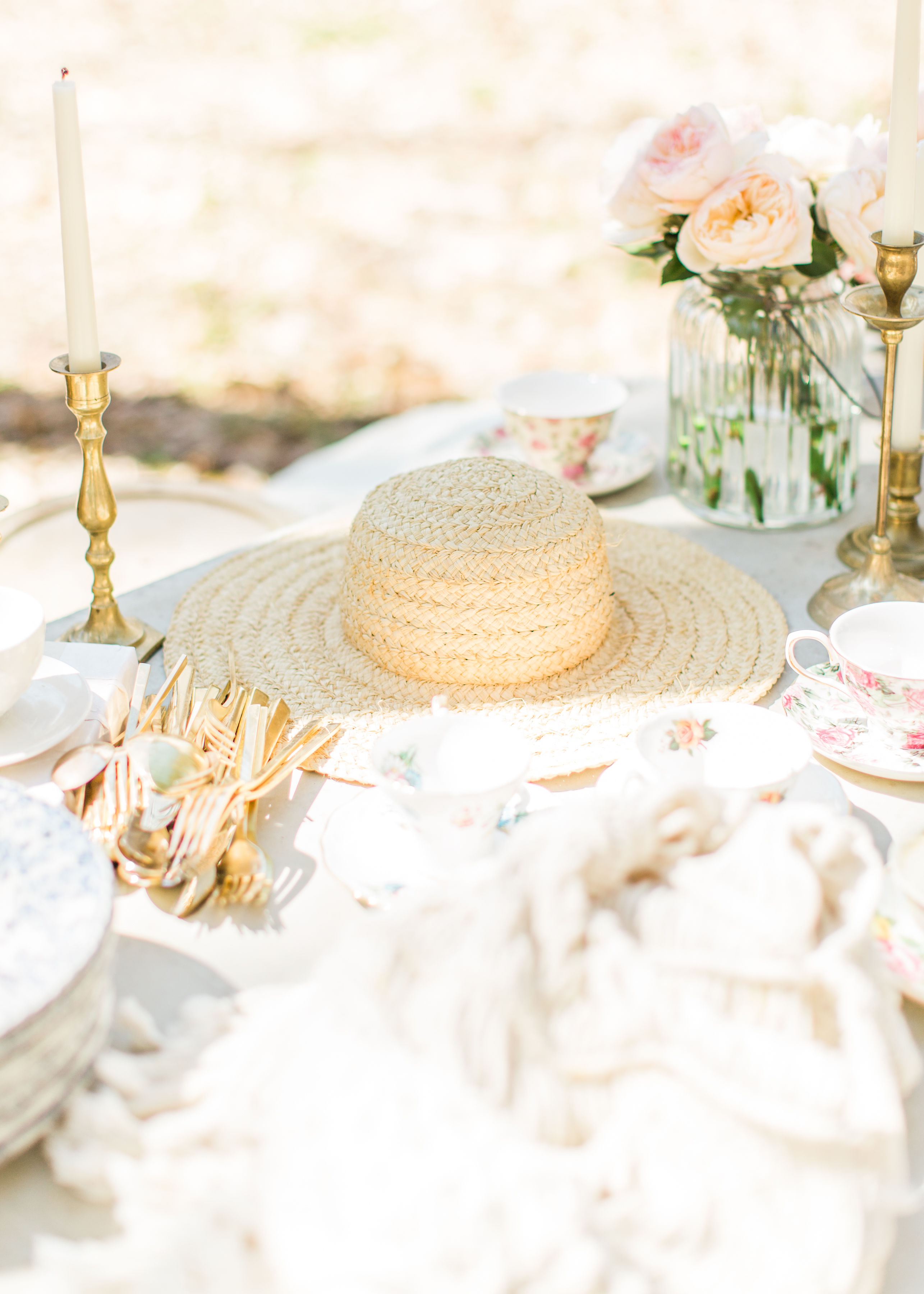 Welcome the sunshine with a whimsical outdoor spring tea and dessert party.