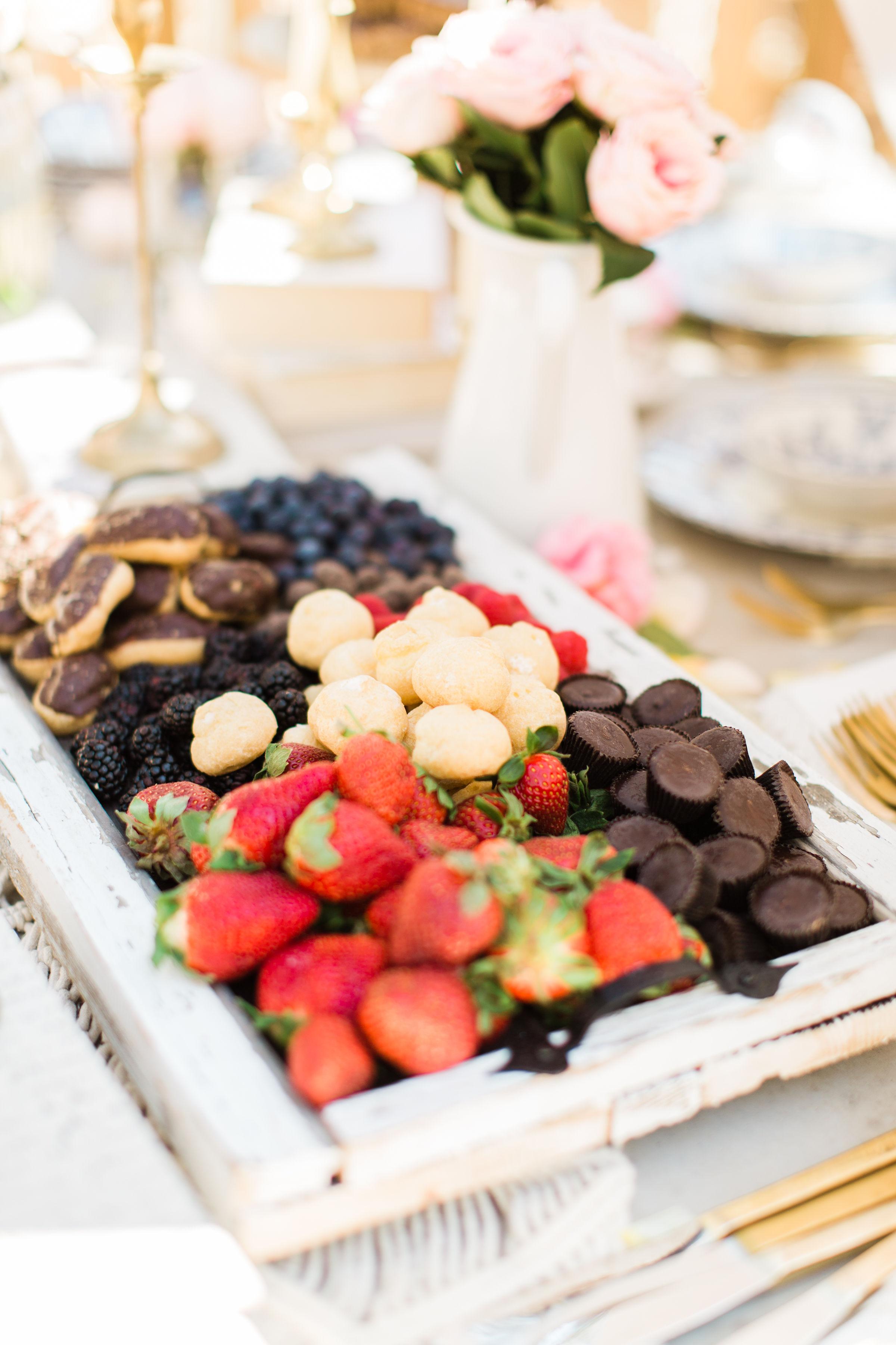 Spring dessert party