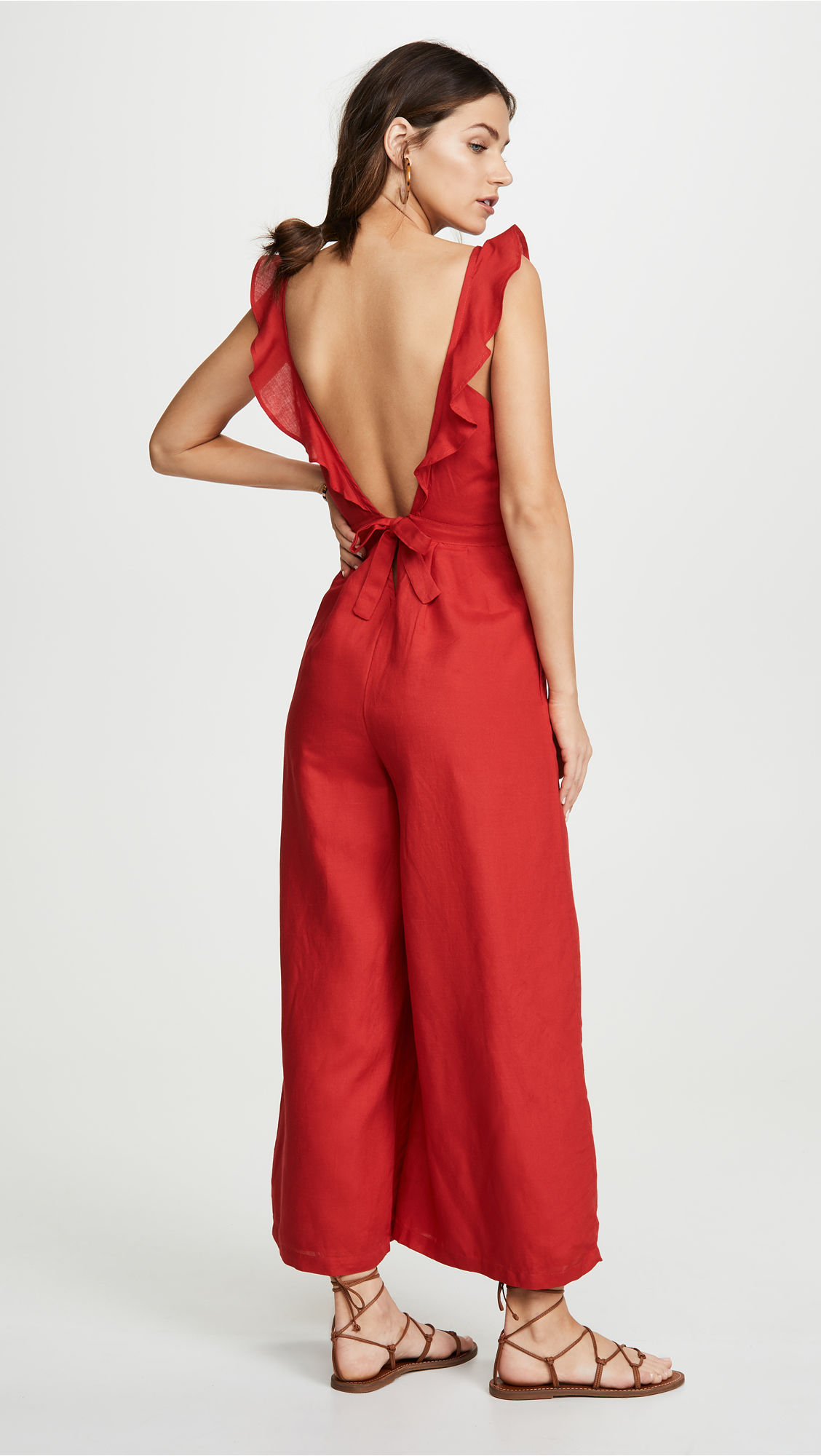 Red Carter Allison Jumpsuit