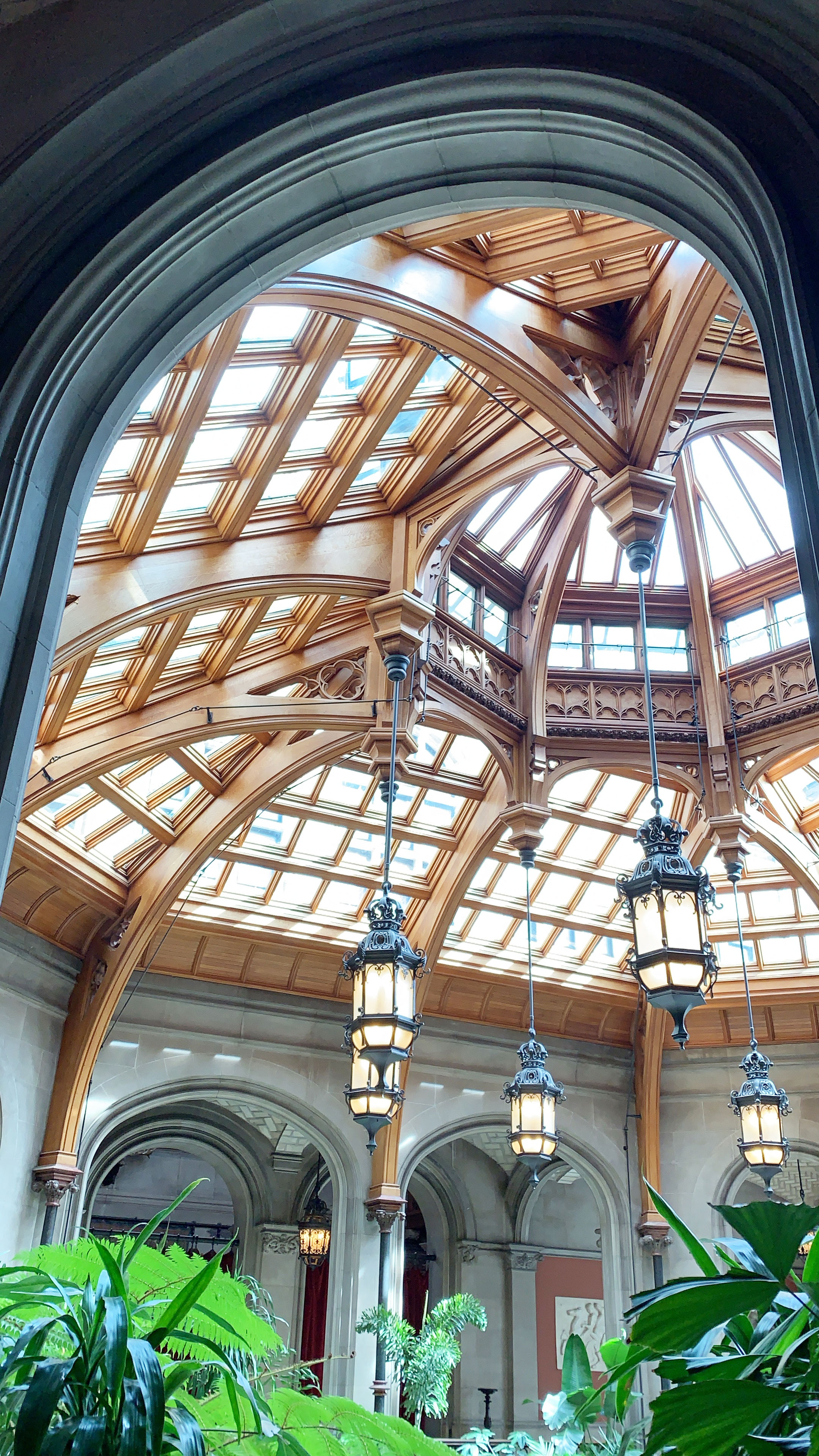 Biltmore House - This is the atrium where you'll start your tour