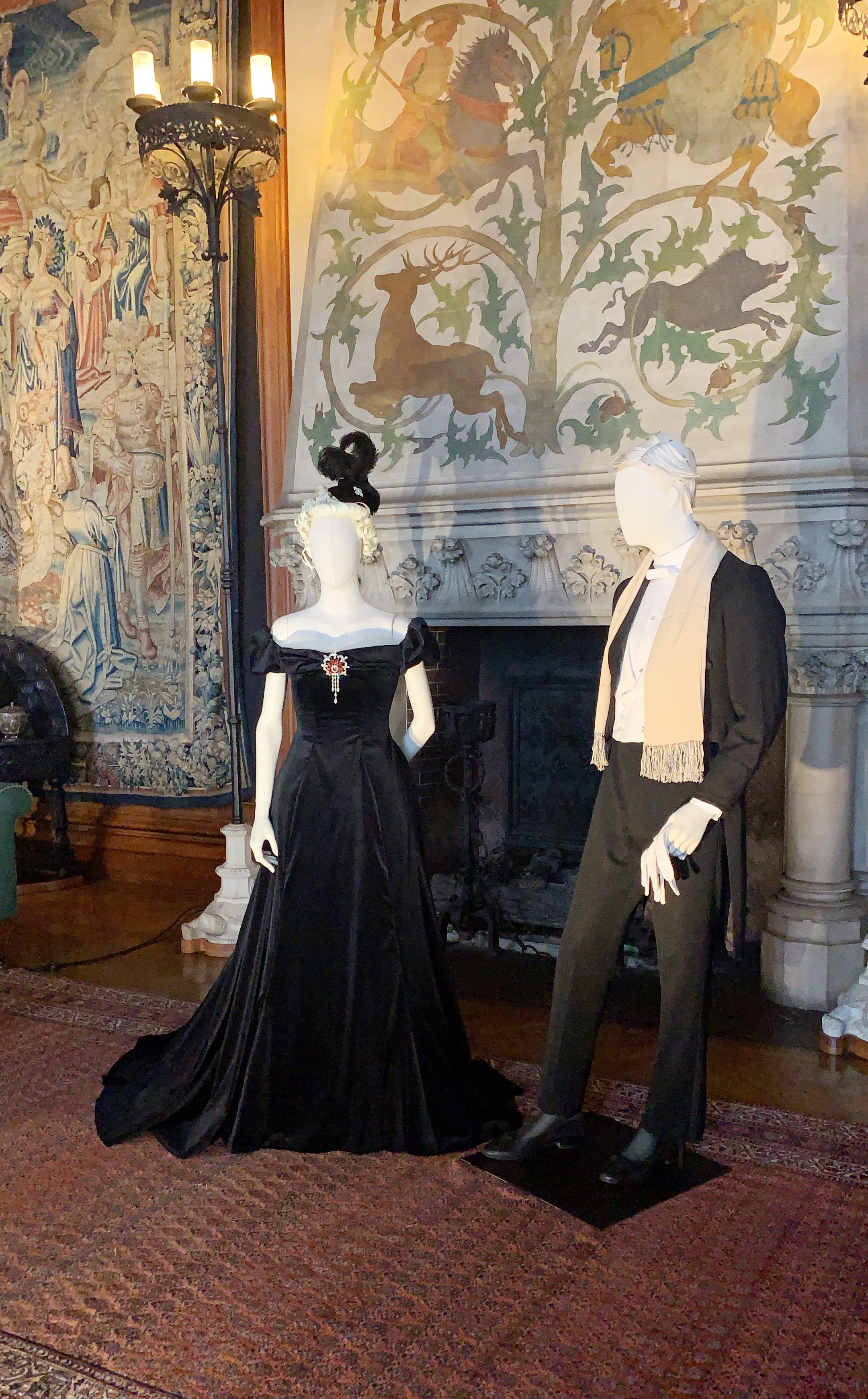 I was most excited to visit Biltmore House this trip for their newest exhibition, A Vanderbilt House Party – The Gilded Age