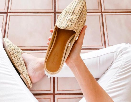 Gorgeous Finds at Target - Universal Thread Women's Violet Woven Backless Mules