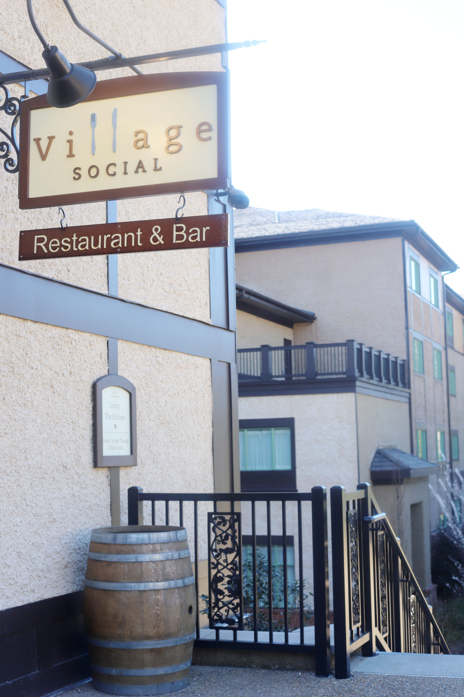 Dinner at Village Social
