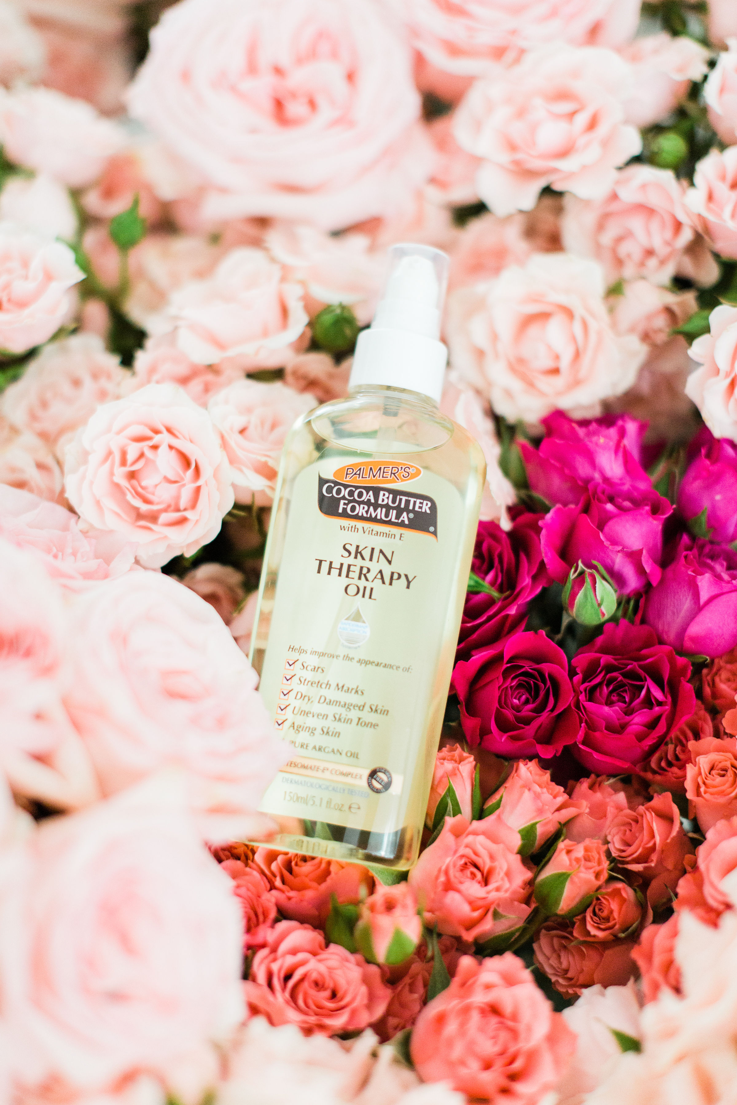 Palmer's® Cocoa Butter Formula® Skin Therapy Oil| glitterinc.com | @glitterinc