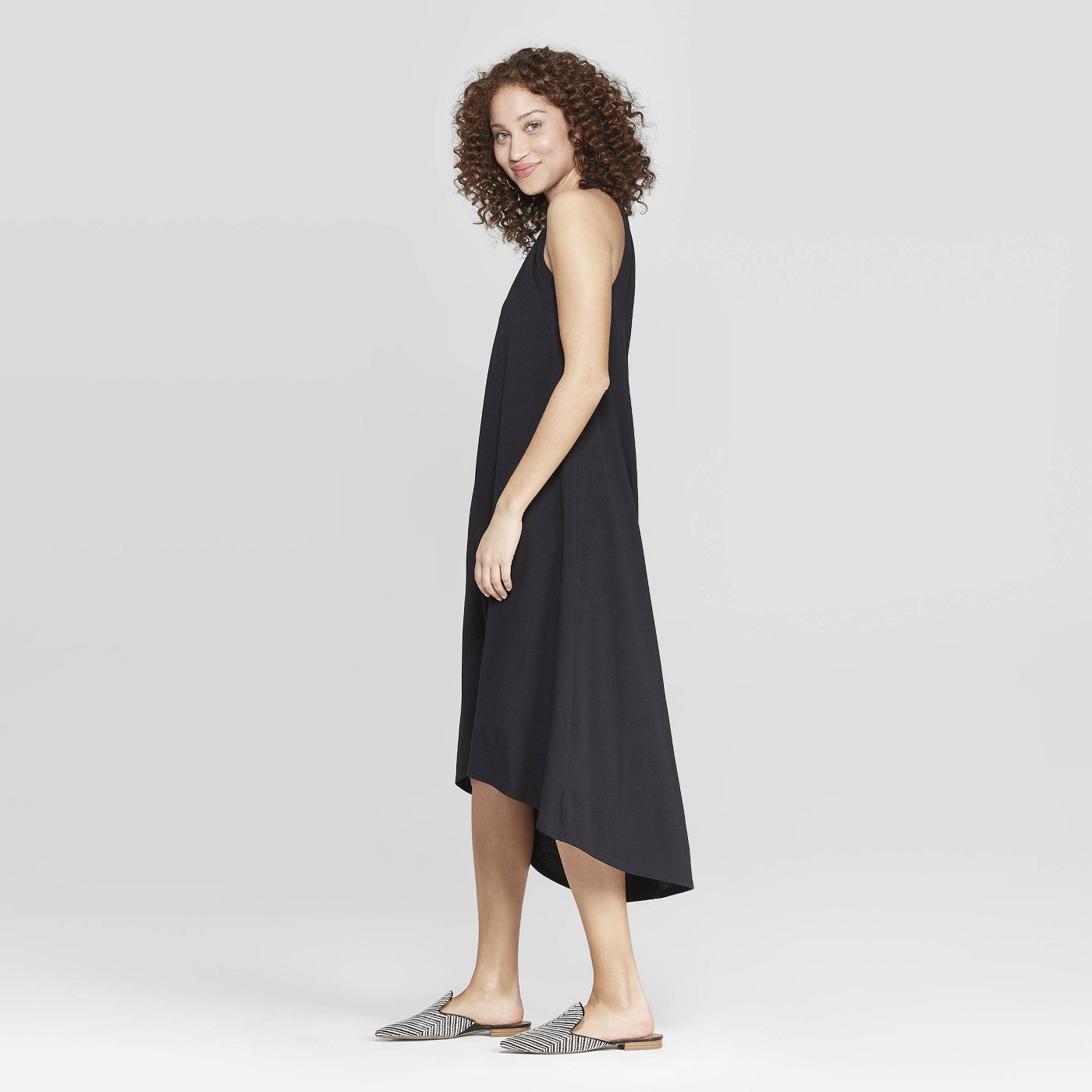 Cutest Dresses - A New Day Women's Relaxed Fit Sleeveless Crewneck Maxi Dress
