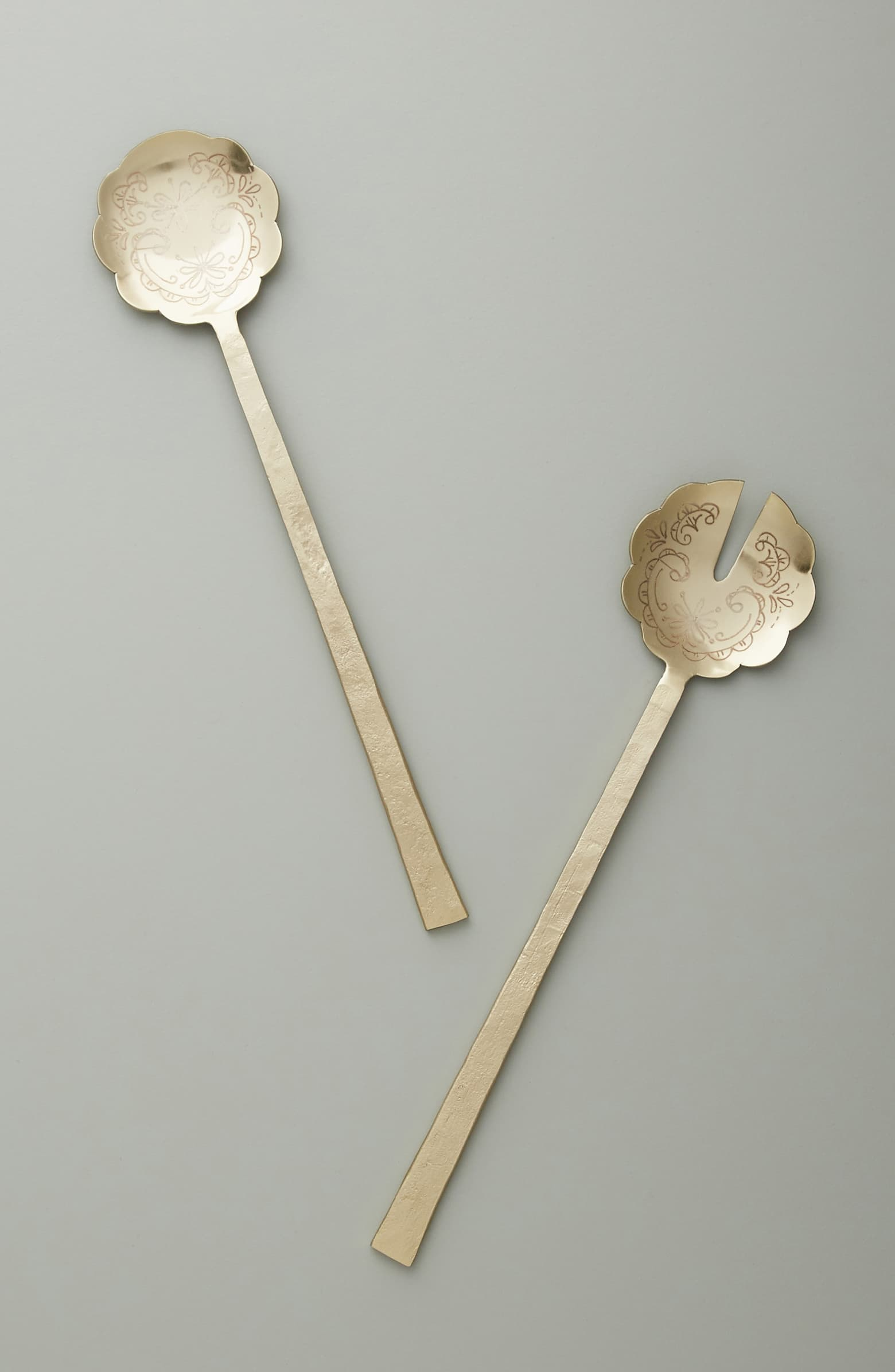 Anthropologie Naomi 2-Piece Servingware Set