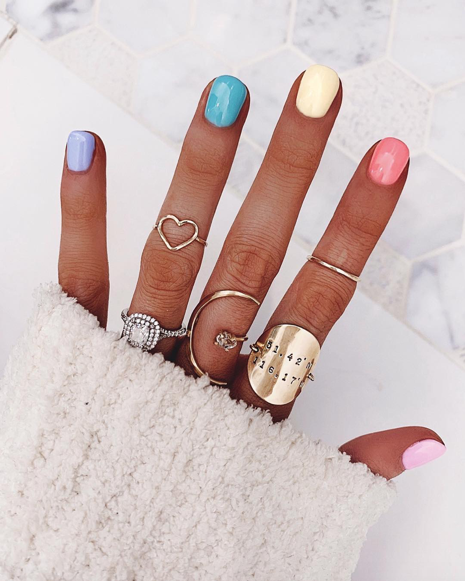 Ombre Nails The Pro Gradient Nail Trend Exploding On Instagram